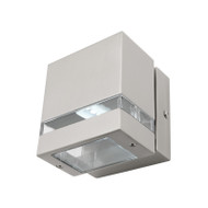 Mercator Hedland LED Exterior Wall Light 316 S/Steel