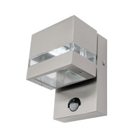 Mercator Hedland LED Exterior Sensor Wall Light 316 S/Steel