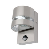 Mercator Karratha LED Exterior Sensor Wall Light 316 S/Steel