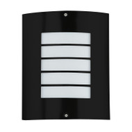 CLA Claw20 Mask Exterior Wall Light 304 S/Steel Black