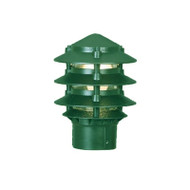 Mercator Pagoda Louvre Garden Post Top Only Green