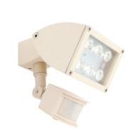 Mercator Zone 1 X 12w LED Exterior Spotlight & Sensor Beige