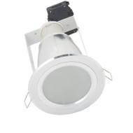Telbix Midas Aluminium Compact Fluoro Down Light Round
