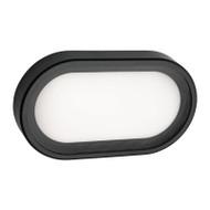 Mercator Arena Small LED Exterior Wall Light Black