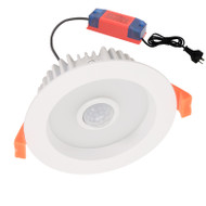 CLA Motion3 10w 5000K LED Down Light & Sensor