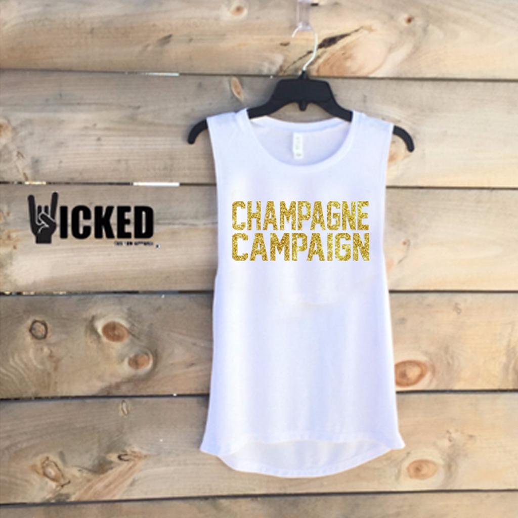 Champagne Campaign (Gold Glitter) A007 - Z1