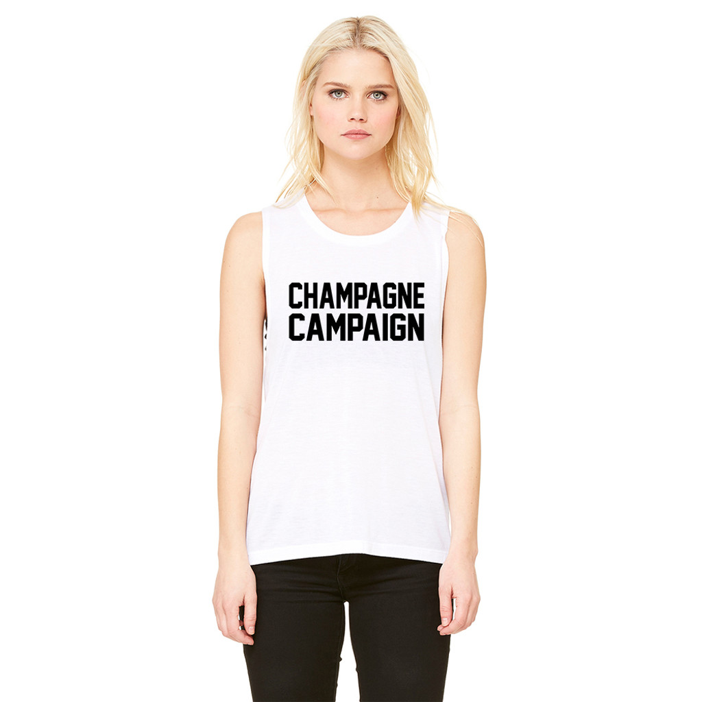 Champagne Campaign - Muscle Tank
