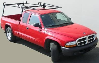 Fleetside Rail Rack Overhead Ladder Rack  with OPTIONAL extension mounted