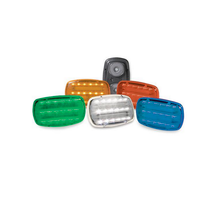 Battery Powered Magnetic Base LED 2 Function Light Set  is available in five colors