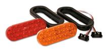 "6.5"" Sealed Oval LED Turn/Stop Light Kit"