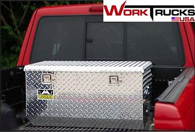 60 Rear Offset Chest Style Aluminum Truck Tool Box