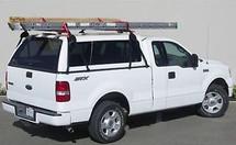 No Drill Truck Cap Ladder Rack