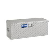 UWS Chest Toolbox in brite aluminum offers 2.7 cu.ft. storage capacity.
