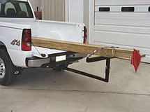 Universal Fit Extend-A-Truck Ladder used for bed extension for long cargo (lumber not included)