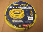 "50' X 3/8"" Pneumatic Pliovic Air Hose 300 PSI GOODYEAR #12865 1/4"" Male Thread"