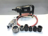 "Pneumatic Impact Wrench Kit 1"" Sq. Drv EGI 6080 Twin Hammer Kit"