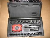 Screwdriver Kit w/ Sockets Torx Hex Star Phillips Sioux