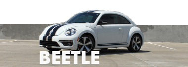 VW Beetle Stripes Decals Vinyl Graphics