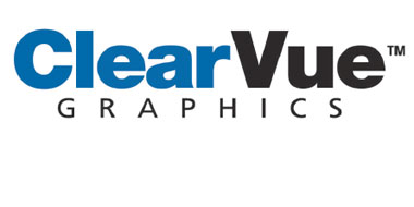 ClearVue See Through Rear Window Vinyl Graphics Decals Stripes