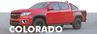 2017 2018 Chevy Colorado Stripes Decals Vinyl Graphics