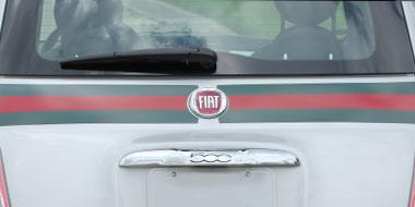 Fiat Vinyl Graphics
