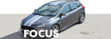 Ford Focus Stripes Decals Vinyl Graphics