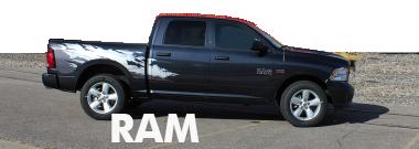 2017 2018 Dodge Ram Stripes Decals Vinyl Graphics
