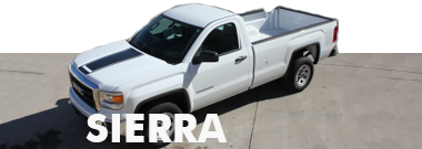 2017 2018 GMC Sierra Stripes Decals Vinyl Graphics
