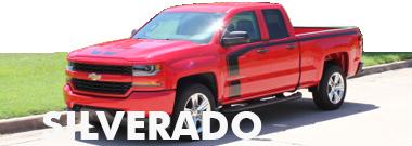 2017 2018 Chevy Silverado Stripes Decals Vinyl Graphics