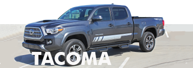 2017 2018 Toyota Tacoma Stripes Decals Vinyl Graphics