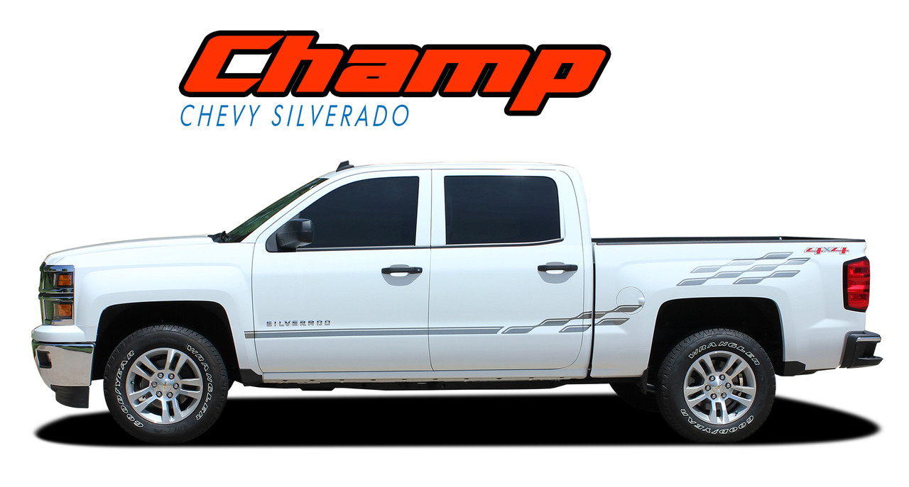 CHAMP | Silverado Stripes | Silverado Decals | Silverado Vinyl Graphics