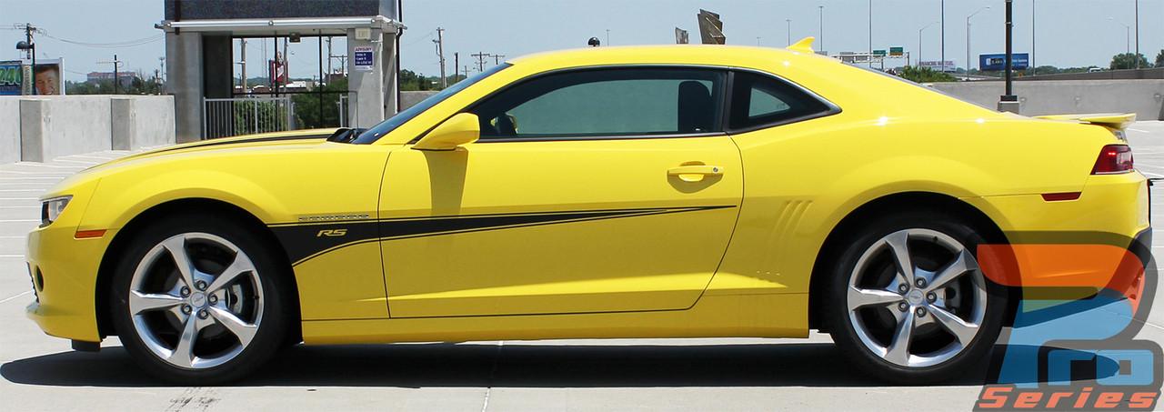 ... SWITCHBLADE  2010 2011 2012 2013 2014 2015 Chevy Camaro Door Side Spears Hood Spikes Striping ... & SWITCHBLADE   Camaro Stripes   Camaro Decals   Camaro Vinyl Graphics