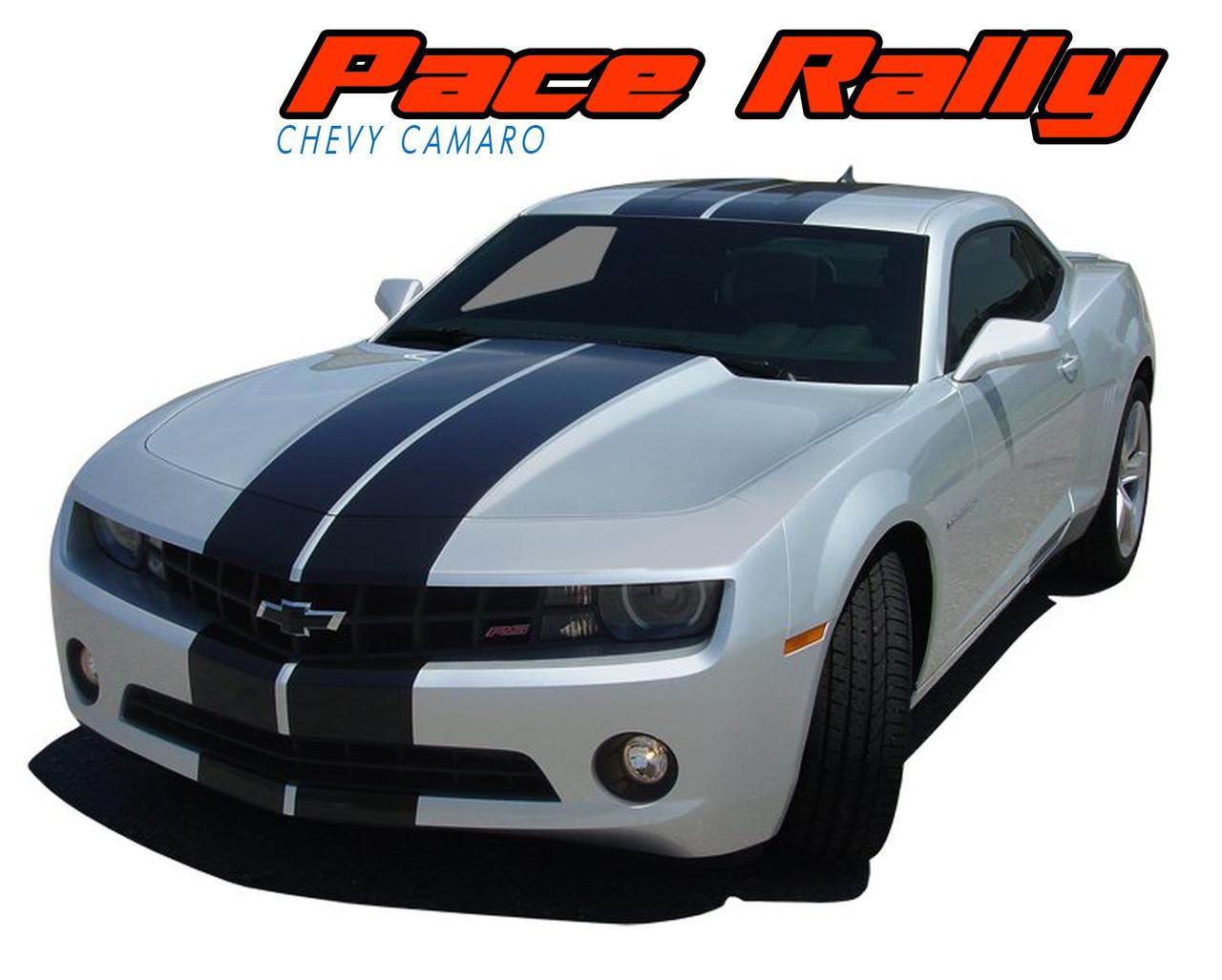 PACE RALLY | Camaro Racing Stripes | Camaro Decals | Vinyl ...
