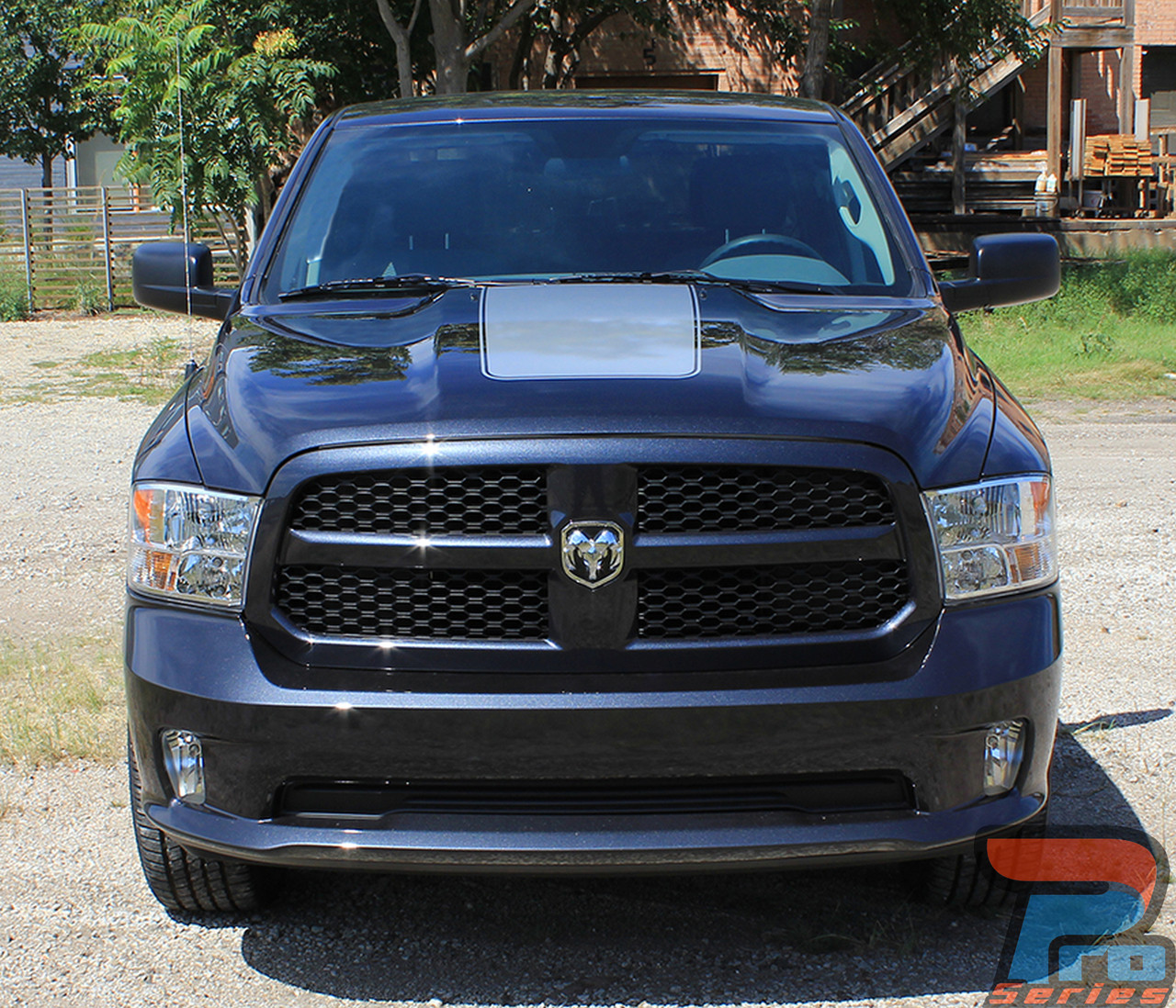 ram hood dodge ram hood stripes dodge ram decals ram. Black Bedroom Furniture Sets. Home Design Ideas