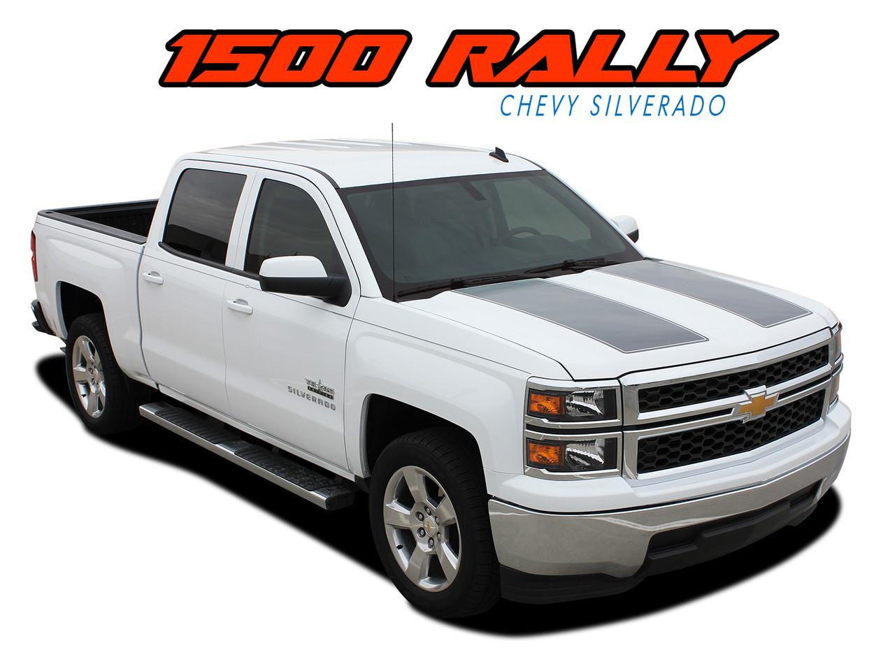 Chevy Silverado Rally Edition >> RALLY 1500 | Silverado Racing Stripes | Silverado Hood Decals | Graphics
