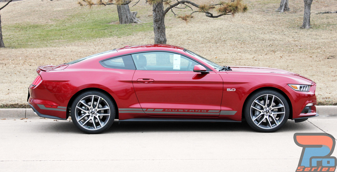 HASTE ROCKERS | Ford Mustang Door Stripes | Mustang Decals ...