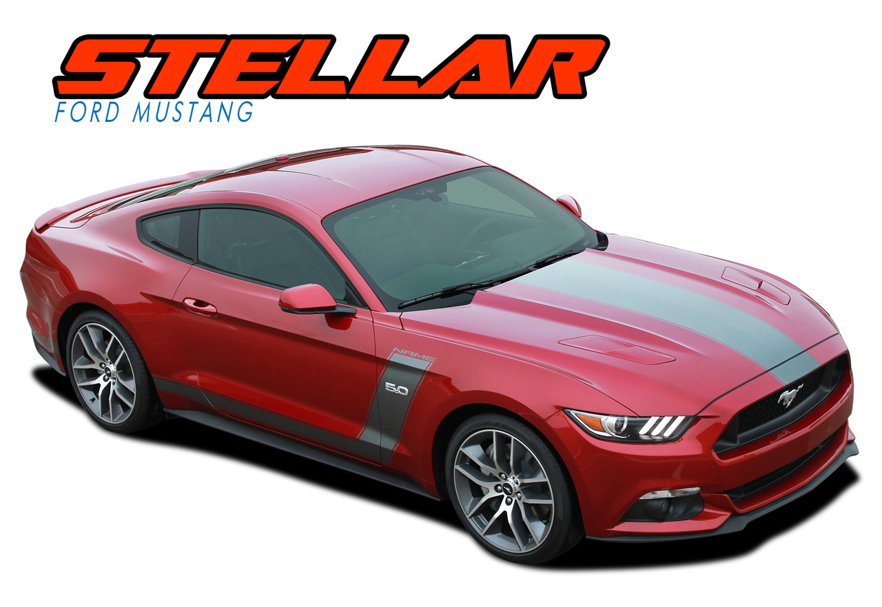 Stellar Ford Mustang Body Stripes Mustang Decals