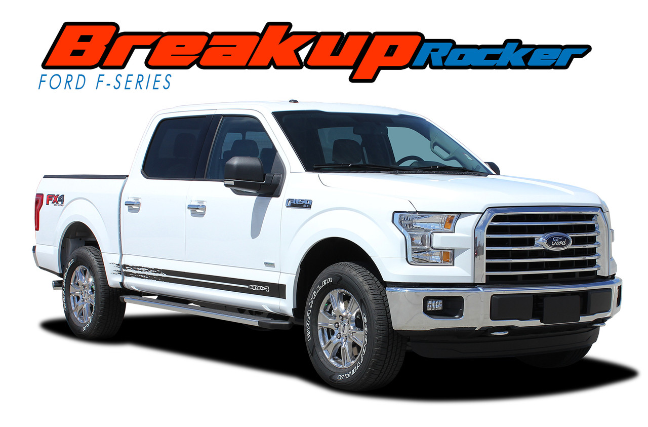 Ford F Door Stripes Lower Rocker Vinyl Graphic Side Decal - Truck decal graphics