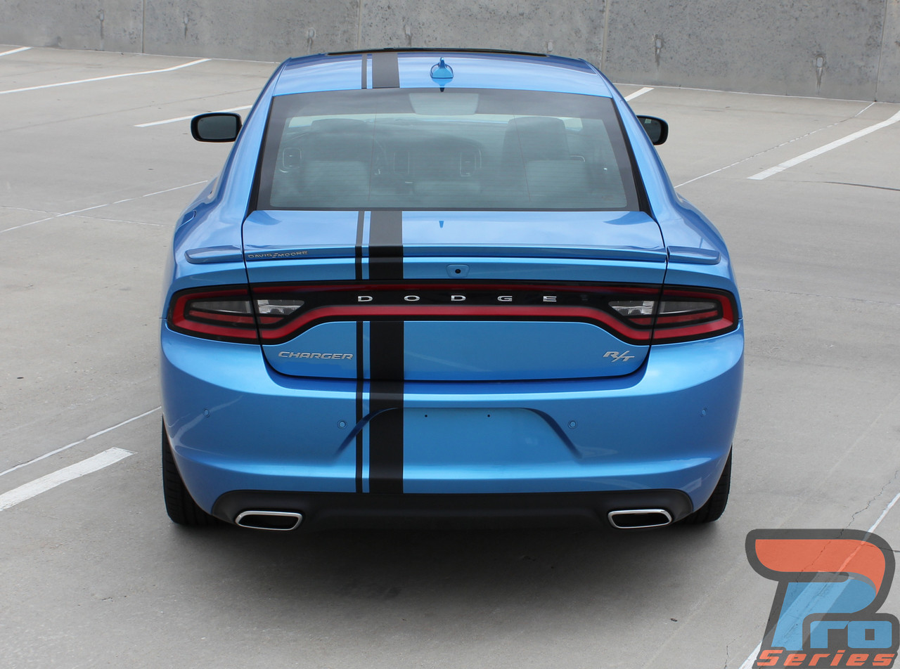 Dodge Charger Se >> Dodge Charger Racing Stripes EURO RALLY Hood Vinyl Graphic