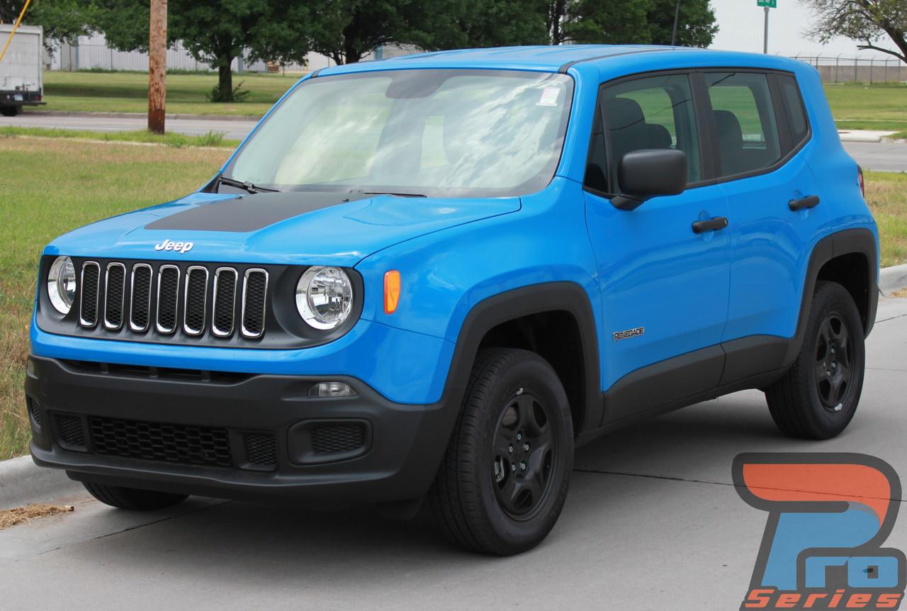 Jeep Renegade Hood Stripes | Jeep Renegade Hood Decals ...