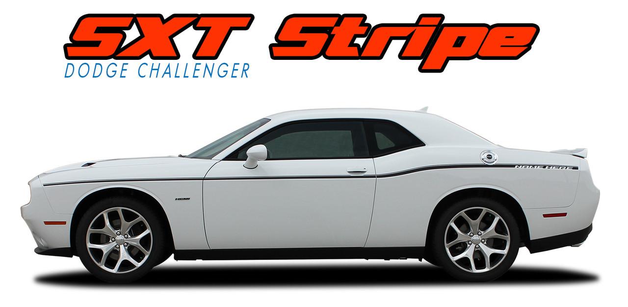 2008 2016 2017 Dodge Challenger Vinyl Graphics Stripes | Autos Post