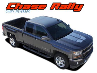 Chase Rally Silverado Stripes Silverado Decals