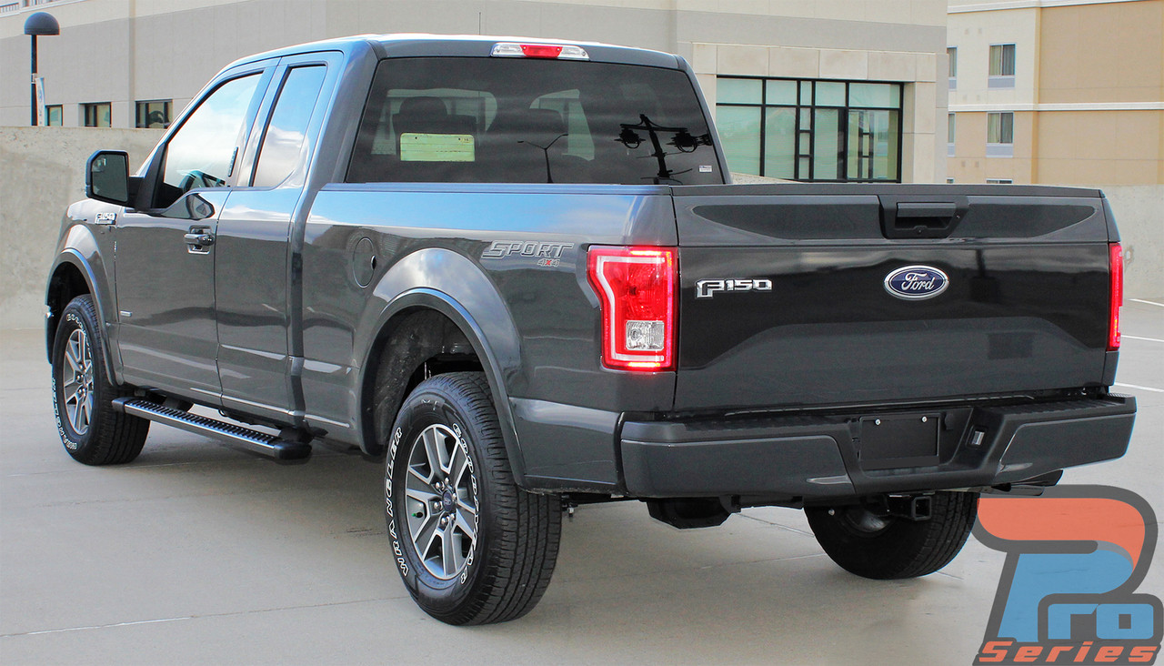 rebel tailgate 2015 2016 2017 ford f 150 roush style tailgate blackout
