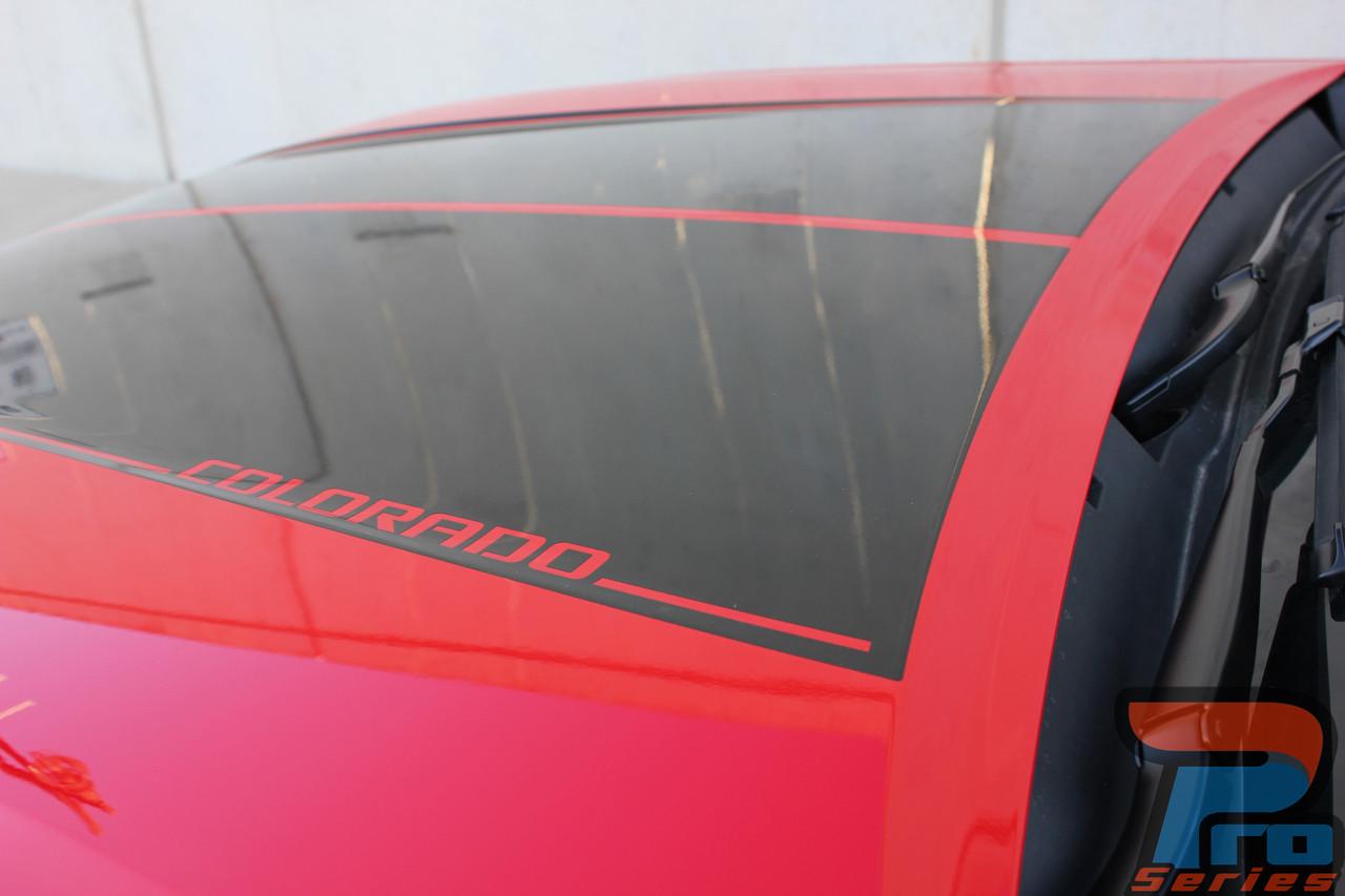 Summit Colorado Racing Stripes Colorado Decals