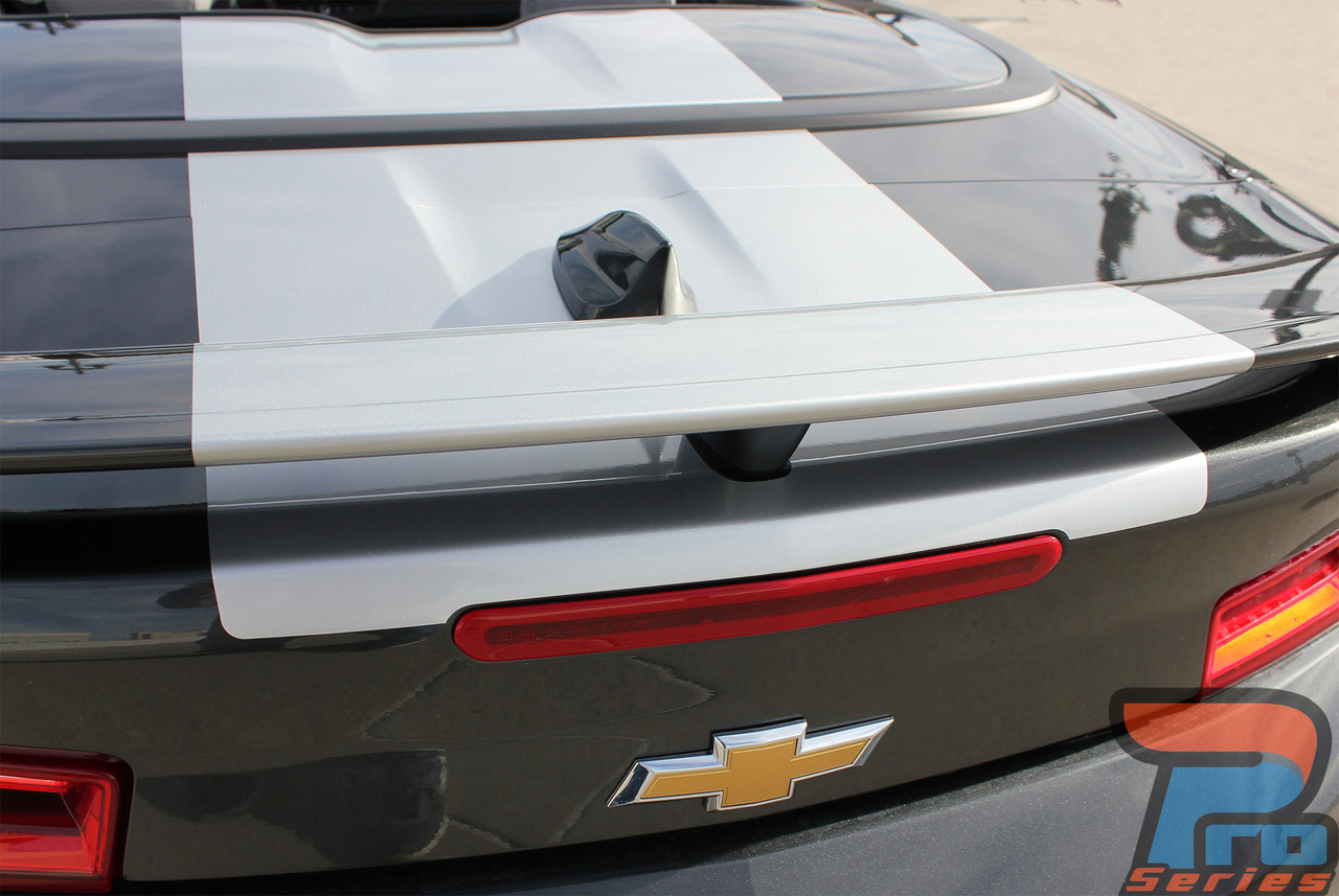 Overdrive Convertible Camaro Stripes Camaro Decals