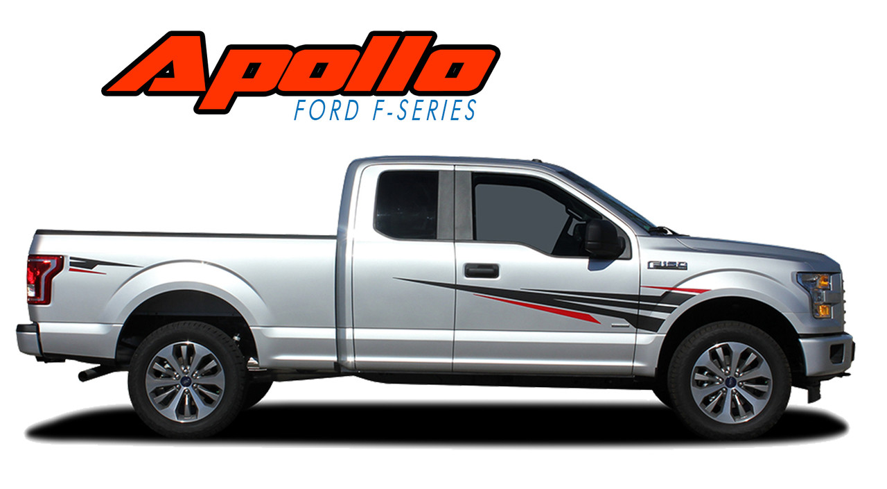 Apollo Accent Ford F150 Stripes F150 Decals F150