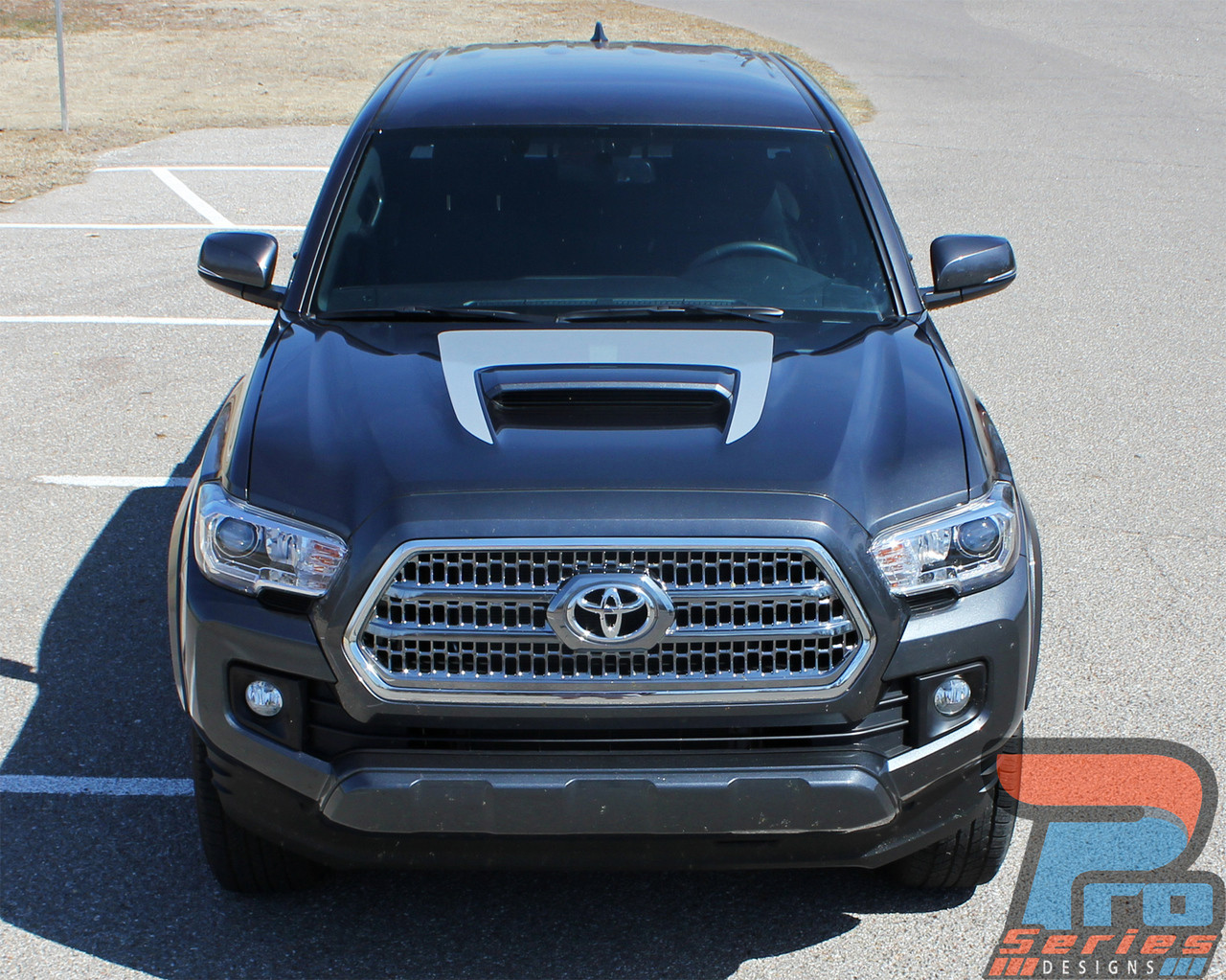 toyota stripes vinyl sport hood striping kit vgp and trim trd pro graphic graphics decal decals accent tacoma