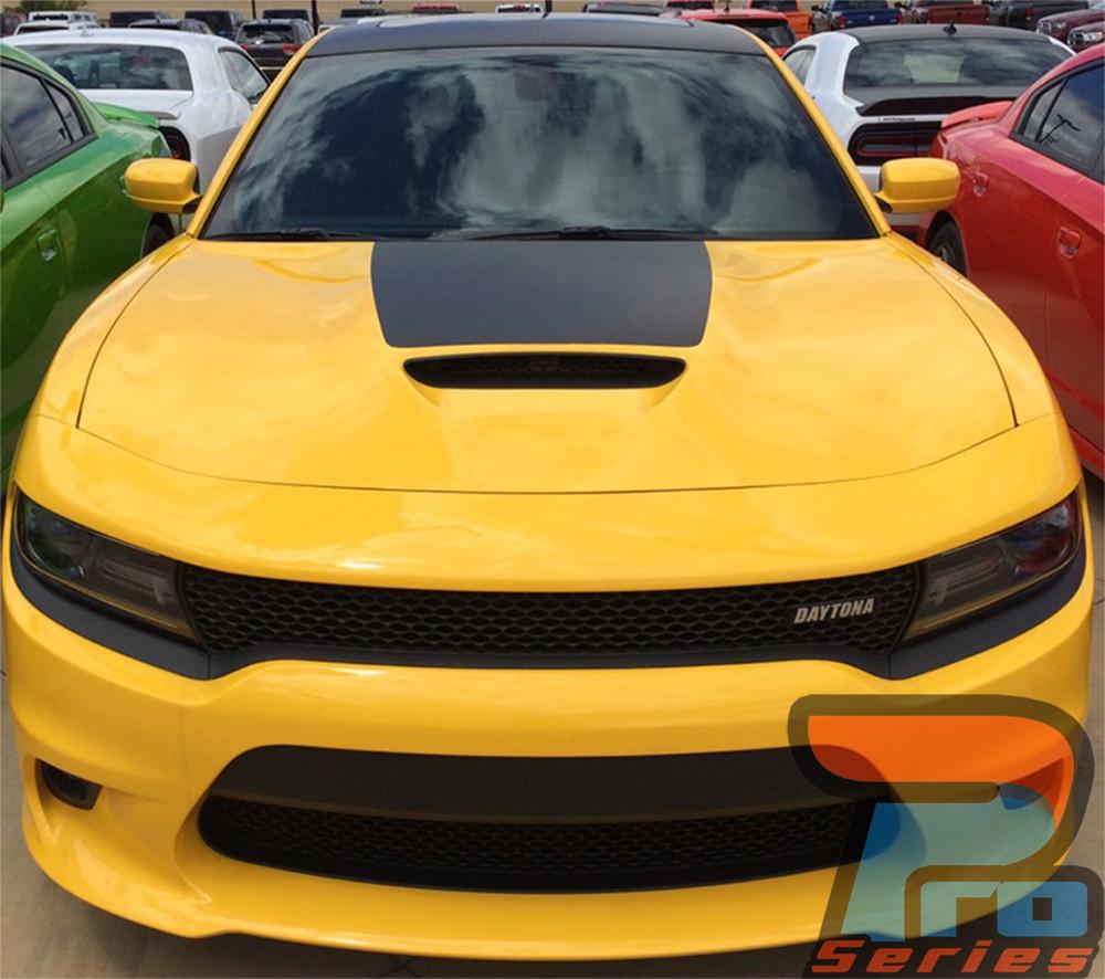 Hood 15 Dodge Charger Stripes Daytona Charger Decals