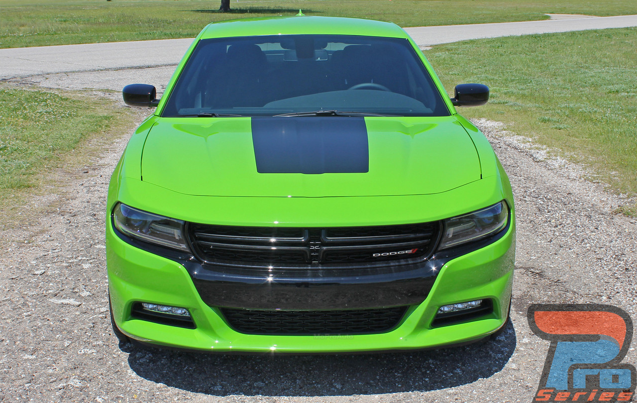 MUSCLE HOOD 15 | Dodge Charger Stripes | Charger Decals | Charger Vinyl Graphics