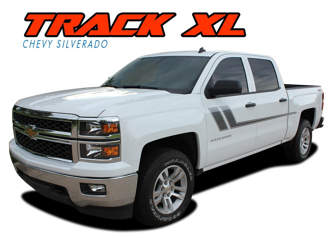 TRACK XL   Silverado Side Stripes   Silverado Decals ...